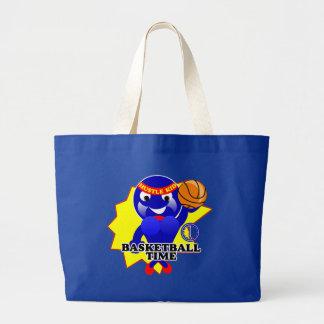 Basketball Time Jumbo Tote Bag