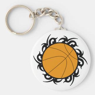 Basketball Tribal Circle Keychains