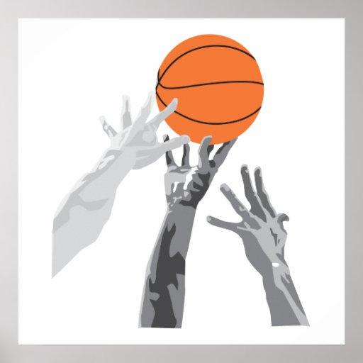 basketball up for grabs vector design print