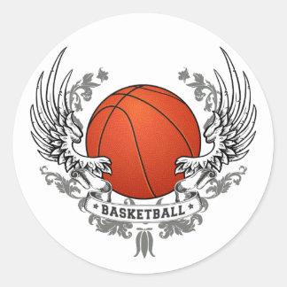 Basketball Wings Sticker