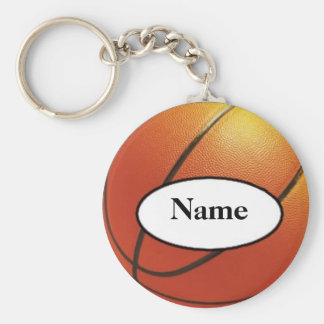 basketball with your nasty on it basic round button key ring