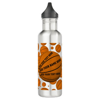 Basketballs 710 Ml Water Bottle