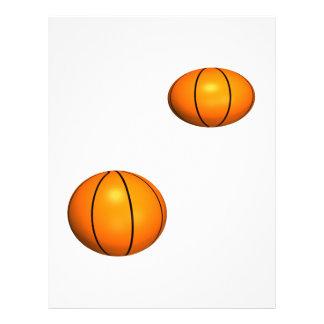 Basketballs Full Color Flyer