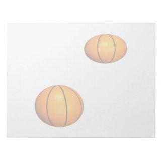 Basketballs Notepad