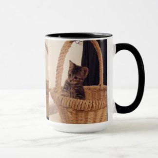 Basketeer Kitten Mug