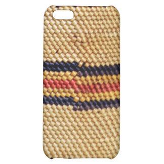 Basketweave Art Speck iPhone 4 Case