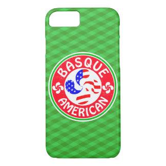Basque American Euskara Lauburu Cross iPhone 8/7 Case