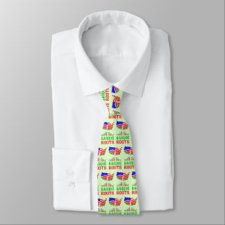 Basque American Roots Tie