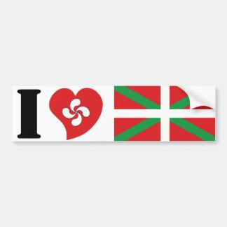 Basque Bumper Sticker