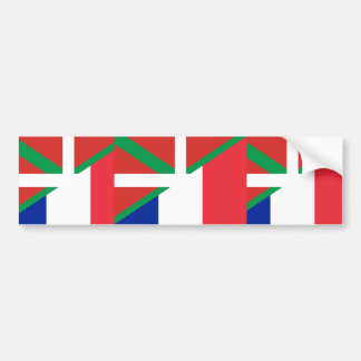 Basque Country And France, Hungary Bumper Sticker