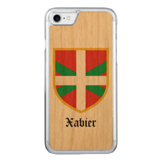 Basque Country Flag Carved iPhone 7 Case