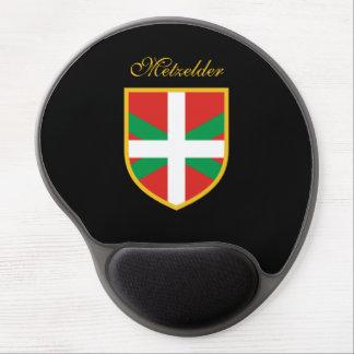 Basque Flag Gel Mouse Pad