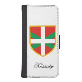 Basque Flag iPhone SE/5/5s Wallet Case