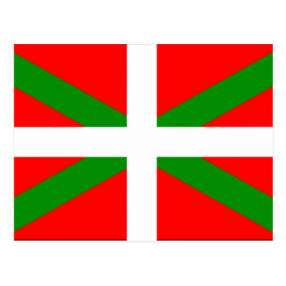 Basque Flag Postcard