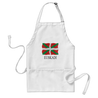 Basque flag standard apron