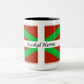 Basque Flag With Euskal Herria Coffee Mug
