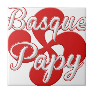 Basque Grandpa Ceramic Tile