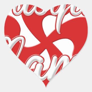 Basque Granny 2.PNG Heart Sticker