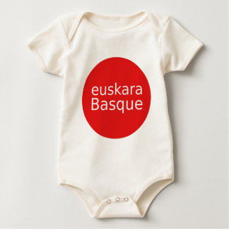 Basque Language Design Baby Bodysuit