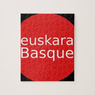 Basque Language Design Jigsaw Puzzle