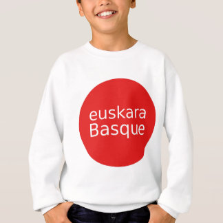Basque Language Design Sweatshirt