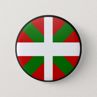 Basque quality Flag Circle 6 Cm Round Badge