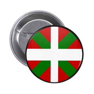 Basque quality Flag Circle 6 Cm Round Badge