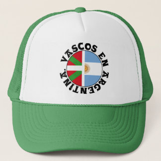 Basques in Argentina logo, Trucker Hat