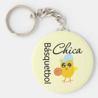 Básquetbol Chica Key Chain
