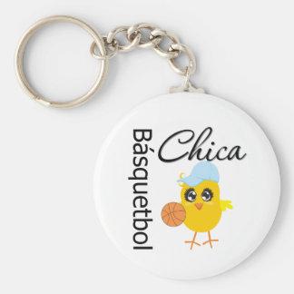 Básquetbol Chica Keychain