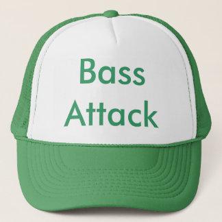 Bass Attack Trucker Hat
