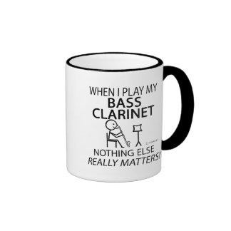 Bass Clarinet Nothing Else Matters Coffee Mug