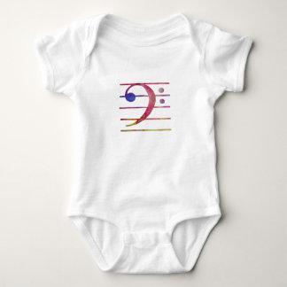 Bass Clef Baby Bodysuit