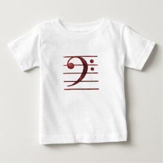 Bass Clef Baby T-Shirt