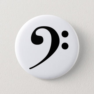 Bass Clef Button