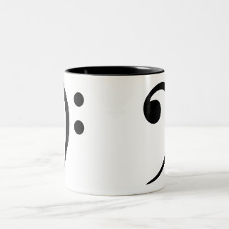 Bass Clef Coffee Mug (Large)