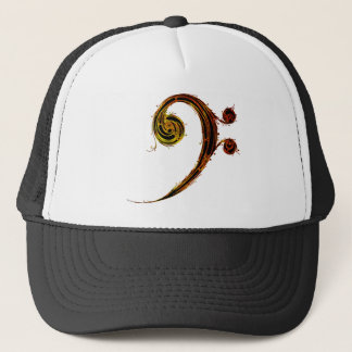 Bass Clef Expressions Trucker Hat