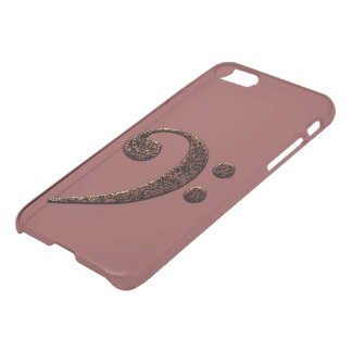 Bass Clef iPhone 7 Deflector Case