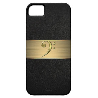 bass clef iphone case