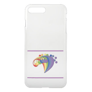 Bass Clef Rainbow Fan iPhone 7 Plus Case
