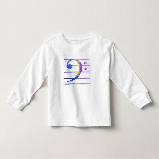 Bass Clef Toddler T-Shirt