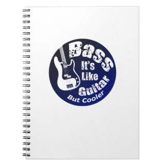Bass Coole  Music Lover Bass Guitar Gifts Notebooks