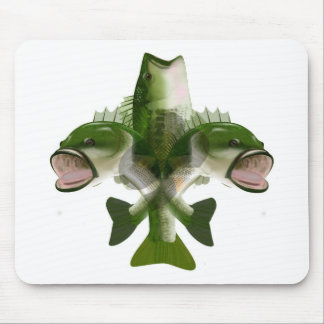 Bass De Lis Mouse Pad