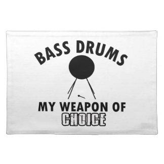 bass-drum choice placemat