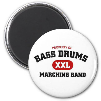 Bass Drums Marching Band Refrigerator Magnet