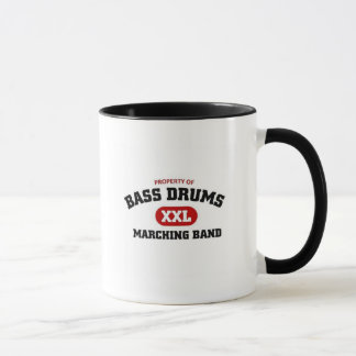 Bass Drums Marching Band Mug