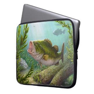 Bass Fish Laptop Sleeve