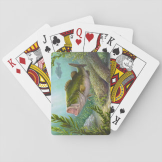 Bass Fish Playing Cards