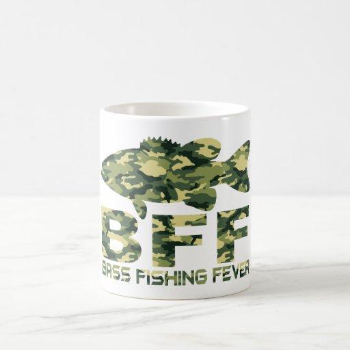BASS FISHING FEVER COFFEE MUGS