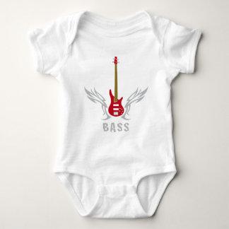 bass guitar baby bodysuit